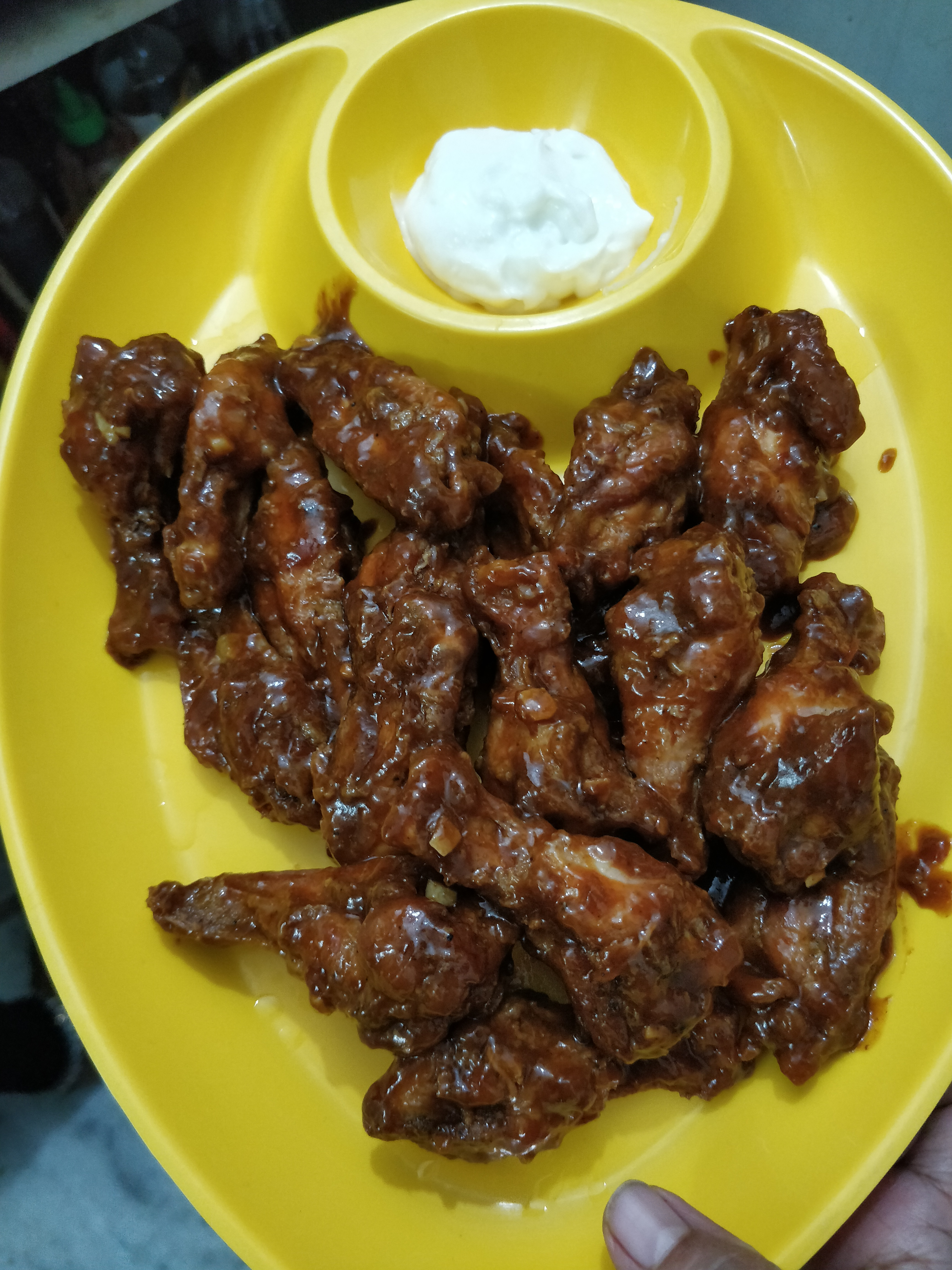 Easy Barbecue Chicken Wings Recipe